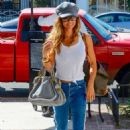 Brooke Burke in Jeans – Out in Los Angeles - 454 x 681