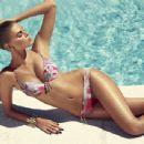 Maryna Linchuk Chantelle Swimwear Campaign 2014