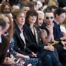 Nancy Shevell; Sir Paul McCartney; Chrissie Hynde; Rita Ora; Jamie Campbell Bower and Mary McCartney attend the Hunter Original show during London Fashion Week Spring Summer 2015 at on September 13, 2014 in London, England. - 454 x 303