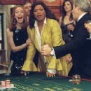 Alicia Witt as Ms Burns and Queen Latifah as Georgia Byrd in scene of last Holiday, directed by Wayne Wang. Distributor by Paramount Pictures.