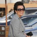 Kris Jenner was seen arriving at Nobu restaurant March 16, 2017.  (March 16, 2017 - 430 x 600