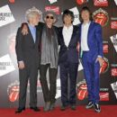 The Rolling Stones celebrate their 50th anniversary with an exhibition at Somerset House on July 12, 2012 in London, England - 454 x 404