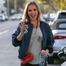 Arielle Kebbel in Tight Jeans – Out in West Hollywood December 15, 2017 - 454 x 681