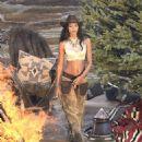 Lais Ribeiro Shooting a commercial for Victoria Secret's upcoming holiday catalog in Aspen - 454 x 588
