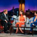 Alexandra Daddario – The Late Late Show with James Corden - 454 x 303