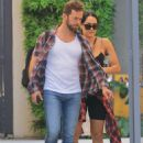 Nikki Bella and fiance Artem Chigvintsev – Visit a personal trainer in Beverly Hills - 454 x 651