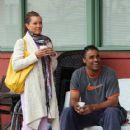 Rick Fox and Vanessa L. Williams