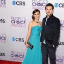 Rachael Leigh Cook and Daniel Gillies attend the 2013 People's Choice Awards at Nokia Theatre L.A. Live in Los Angeles on Jan. 9, 2013