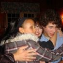 Jasmine Richards and Nick Jonas