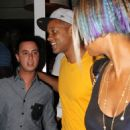 Will Smith spending a night out in Miami (August 11)