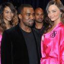Kanye West and Chanel Iman