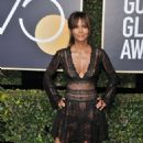 Halle Berry – 2018 Golden Globe Awards in Beverly Hills - 454 x 709