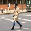 Lea Michele out to lunch in New York City