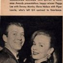 Piper Laurie and Gene Nelson - Movie Stars Magazine Pictorial [United States] (March 1956) - 454 x 643
