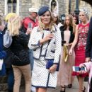 Kate Moss with her daughter Lila Grace Moss – Leaving Windsor Castle