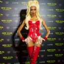 Winnie Harlow – Heidi Klum's 19th Annual Halloween Party in NYC - 454 x 681