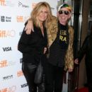 Keith Richards and Patti Hansen attend the
