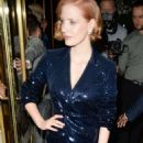 Jessica Chastain – Out In London