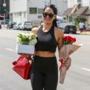 Nikki Bella – Seen running errands in LA