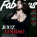 Louise Redknapp - Fabulous Magazine Cover [United Kingdom] (13 January 2013)