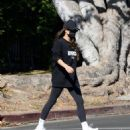 Shay Mitchell – Out for a family stroll in LA