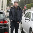 Ben Affleck is seen leaving Pacific Palisades Community Church in Pacific Palisades Ca January 22, 2017 - 424 x 600