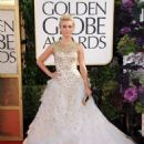 Julianne Hough: arrives at the 70th Annual Golden Globe Awards held at The Beverly Hilton Hotel in Beverly Hills - 454 x 585