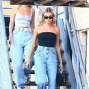 Hailey Baldwin – Leaving Mindy Weiss Party in Beverly Hills