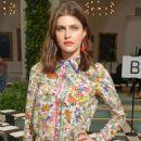 Alexandra Daddario – Tory Burch Show 2020 – New York Fashion Week