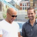 "Vin Diesel shared another picture of his friend and late actor Paul Walker via Facebook on Thursday, Jan. 2; ""We accomplished so much in 2013,"" he said"