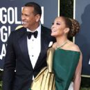 Jennifer Lopez and Alex Rodruiguez – 77th Annual Golden Globe Awards in Beverly Hills