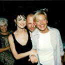 Demi Moore, Bruce Willis, Ellen DeGeneres - 454 x 329