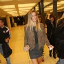 Bar Refaeli Arrives At Charles Bronfman Auditorium In Tel Aviv