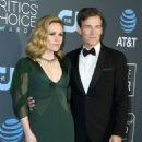 Anna Paquin and Stephen Moyer At The 24th Annual Critics' Choice Awards (2019) - 454 x 582