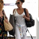Mel B – Spotted at Venice Airport during the 76th Venice Film Festival - 454 x 725