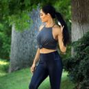 Nikki Bella – Athletic-Themed Outdoor Photoshoot in Los Angeles
