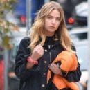 Ashley Benson – Leaving a hair salon in Los Angeles