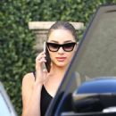 Olivia Culpo – Leaving Epione Cosmetic Dermatology in Beverly Hills
