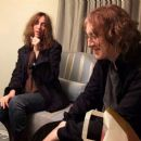 Patti Smith sings 'Louie Louie' for Kevin Shields, New York 2008 [Photographer: B.P. Fallon]