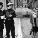 Carla Gravina, Marcello Mastroianni, Renato Salvatori - 454 x 340