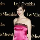 ANNE HATHAWAY at Les Miserables Premiere in Paris