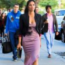 Padma Lakshmi Heading To A Party In Nyc