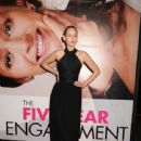 "Leelee Sobieski: premiere of ""FiveYear Engagement"" as part of theTribeca Film Festival at the Ziegfeld Theatre in New York City"