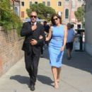 Cindy Crawford Arrives in Venice