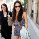 Jenna Dewan Out and about Beverly Hills 29/06/10