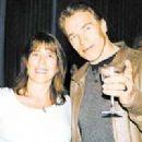 Arnold Schwarzenegger and Gigi Goyette