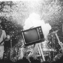The Plasmatics and Wendy O Williams WOW a Crowd With Pyrotechnics and Sledgehammering a TV in the late 1970's - 454 x 322