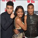Keke Palmer and Quincy Brown - 454 x 461