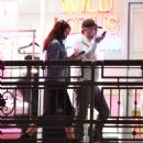 Camila Morrone and Leonardo DiCaprio – Out and about in West Hollywood - 454 x 482
