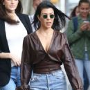 Kourtney Kardashian – Seen out in New York